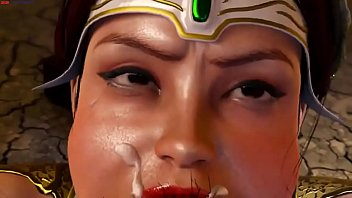 Мамуля с шикарными дойками наблюдает как ее избранник трахает другую